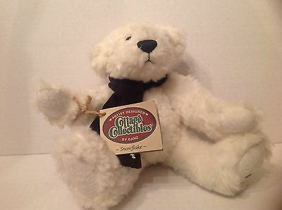 Ganz Cottage Collectibles Bear Snowflake CC1219 Catharine Tredger 1998