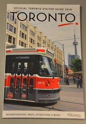 Official City of Toronto Visitor Guide 2016 - 114 pages & brand new