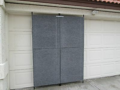 ProPanels 10x10 foot Art Display Booth with Extras,   7' Knock down 1/2 panels