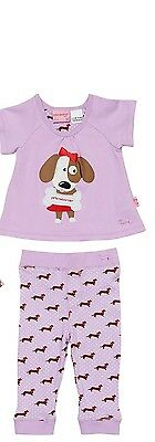 Peter Alexander baby girls 0-3 mths Love Penny Set pyjamas    Size 0000