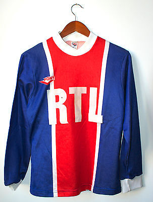 Maillot de foot collector du PSG 1979 - PONY - Taille XS