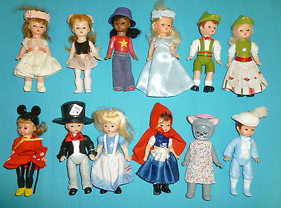McDonald's Madame Alexander Dolls Mixed Lot of 12 Minnie Mouse Mad Hatter Prince