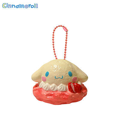 Authentic Sanrio Licensed Cinnamoroll Sweets Waffle Squishy Strawberry Version