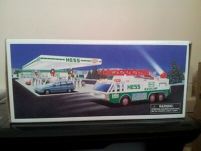 1996  Hess  Emergency* Truck*  Mint* In* Box*