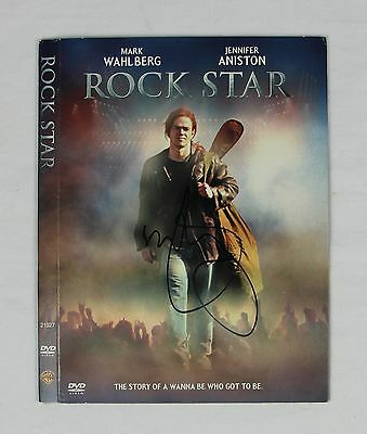 Mark Wahlberg Rock Star Signed Authentic Autographed DVD Cover