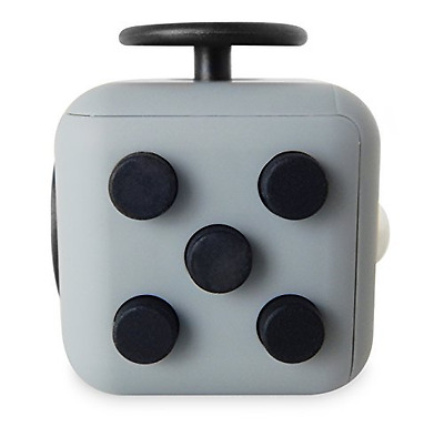 Fidget Cube - Dark Grey - cubo antistress anti ansia