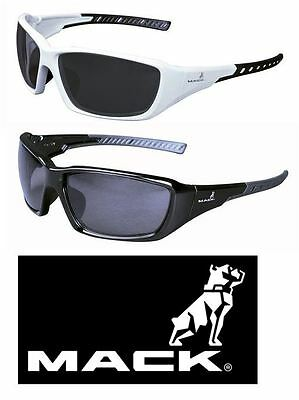 Mack Safety Glasses Specs Flyer Polarised Black Or White One Size Fits All
