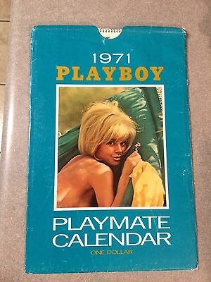 Vintage 1971 Playboy Wall Calendar Cynthia Myers !! Valley Of The Dolls !!! Wow
