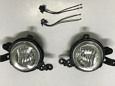 OEM Genuine Fog Light Lamp Assy + Connector LH RH For 2014-2016 KIA All New Soul