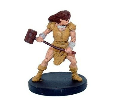 Dungeons and Dragons 5e Minis: Monster Menagerie 2 - #19 Half-Orc Barbarian