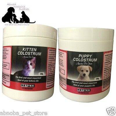 Nettex Lifeline 1st Life Colostrum & Pet / Cat Nutri-Drops Kitten Puppy Stim