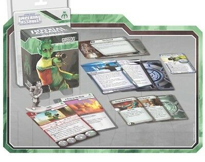 Free Uk Shipping! Greedo Villain Pack For Star Wars Imperial Assault, New!