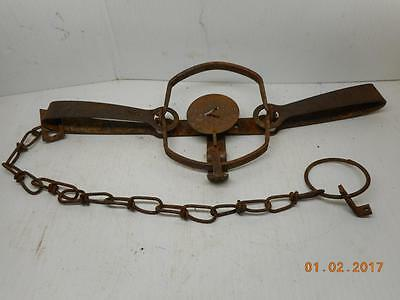 Vintage Traps VICTOR ONEIDA No.2 DOUBLE LONGSPRING TRAP Vintage Trapping Old b