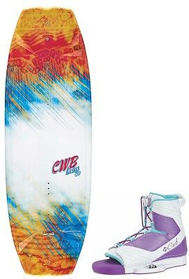 Wakeboard Ladies CWB Lotus 130cm with Optima Boots Size 3-6