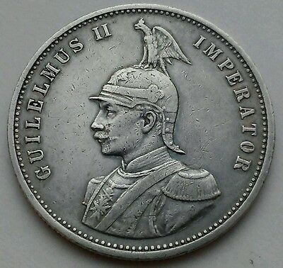 German East Africa 1 Rupie 1899. KM#2. .917 Silver One Dollar coin. Wihelm I.