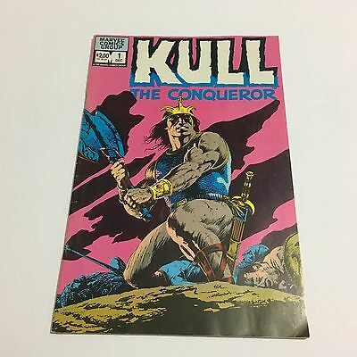 Kull The Conquerer #1 1982 1St Issue!!