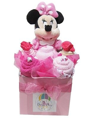 MINNIE MOUSE Baby Girl Shower Quality Hamper Gift Set (HAM183) BRAND NEW