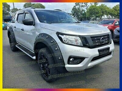 Wrinkle Fender Flares Wheel Arch For Nissan Navara D23 NP300 2014 2015 2016 2017