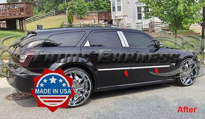 For 2005-2010 Chrysler 300 300C STAINLESS Chrome Fuel Gas Door Cover Trim