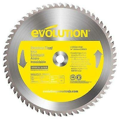 Evolution Power Tools 14BLADESS Stainless Steel Cutting Saw Blade, 14-Inch x New