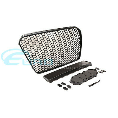 Audi RS5 Style Grille for A5 / S5 8T Facelift Gloss Black Finish