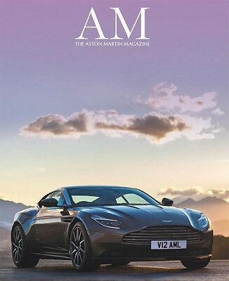 Aston Martin Magazine Iss 32 - Spring 2016- 120pgs - Meet the DB11