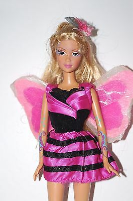 Barbie Fairytopia Doll Light Up Butterfly Fairy Wings