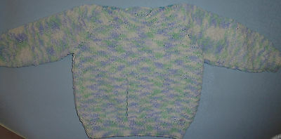 Baby Hand Knitted Jumper (66)