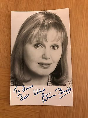 "PATRICIA BRAKE Signed Autographed Photograph. ""PORRIDGE"""