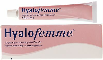 Hyalofemme Vaginal Dryness And Irritation Relief Moisturiser Gel 30g