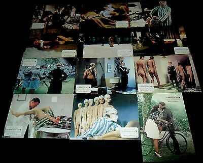 1976 Deported Women of the SS ORIGINAL LOBBY CARD SET Nazisploitation NASTY