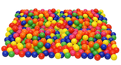 Toys 100 Balls Kids Baby Playpen Ball Pool Pit Tent Play Games Bounce House BPA