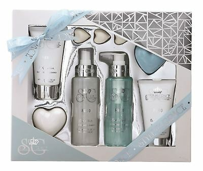 S&G Puro Ultimate Bathing Gift Set Body Wash Lotion Butter