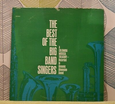 The Best Of The Big Band Singers [Vinyl LP,1968] USA Import D 405 Mono *EXC