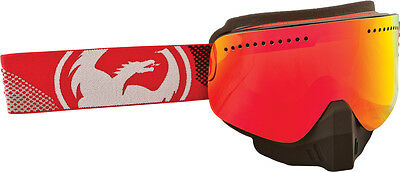Dragon NFX Fade Red Frameless Mens Snowmobile Skiing Snowcross Goggles