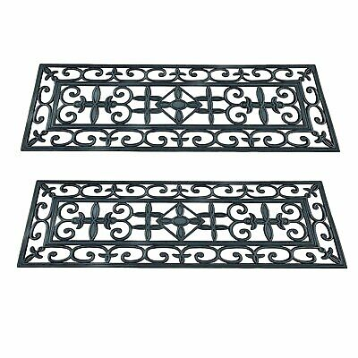 Rubber Stair Treads Outdoor Step Mats Floor Protection Staircase Tread Cover Pad