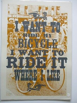 Art Dynamo Works 029 Limited Edition Screen Print - Numbered Signed - A2