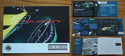 Rare 2016 LOTUS 3 Eleven Three 11 Main Dealer Brochure 6 Pages + Covers