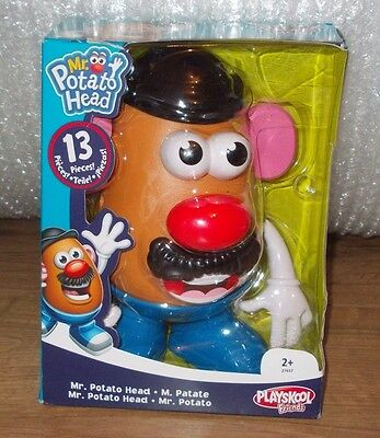 Mr Potato Head 13 Pieces By Playskool Friends New & Sealed 'free Post' Great Fun