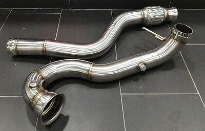 Stc Performance High-Flow Catless  Downpipe 2013-2016 Mercedes Benz A45 Amg