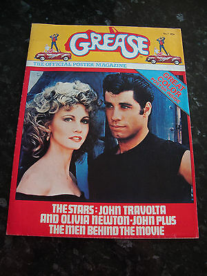 GREASE - The Official Poster Magazine No. 1