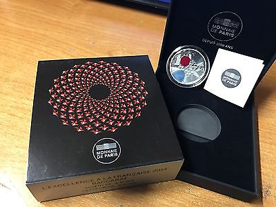 France 2014 BACCARAT 10 euro Silver Proof - Francia argent € silber