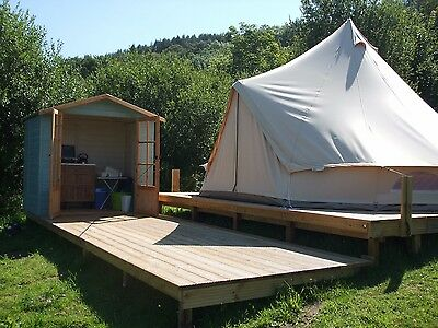 Glamping Holiday - Isle of Anglesey (Adults only) from £40 per night
