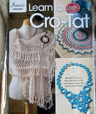 Learn To Cro-Tat Kit   Instructions, Patterns, Hook