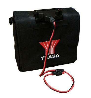Yuasa 22Ah Golf Battery For Powerkaddy, Battery, Lead & Bag VRLA