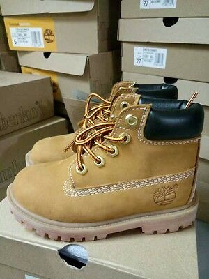 CLEARANCE Timberland Wheat Waterproof Boots / Shoes For Kids Toddler Boys Youth