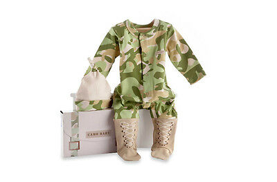 Baby Infant Clothes CamouFlage Size 0 to 6 Months 2-Piece Outfit Layette Set