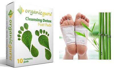 Detox Foot Patches Pure Natural Ingredient Increase Energy Relieves Allergy