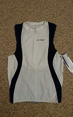 Unisex orca tri top running singlet size Large