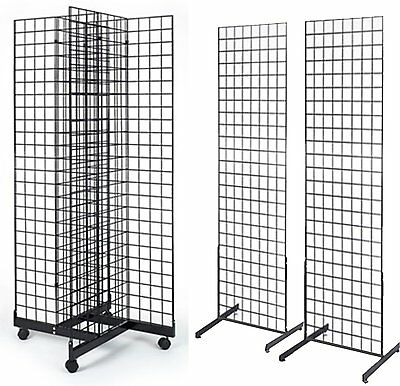 2' x 6' Combo Grid Display Black